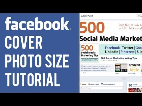 Facebook Cover Photo Size Tutorial | Cover Image Dimensions