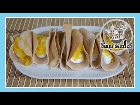 Khanom Buang Recipe (Thai Crepes)