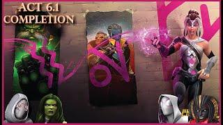 She-Hulk VS Aspect of War Rhino (Act 6.1.4) - Marvel Contest of Champions