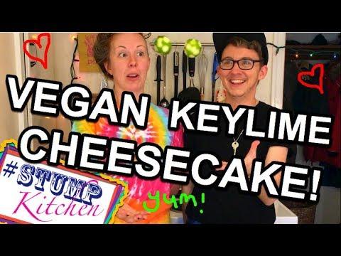 VEGAN GLUTEN FREE Key Lime CHEESECAKE! (easy dessert recipe)