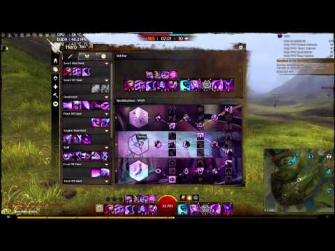 Guildwars2  Condi shatter Mesmer PVP and WvW roaming build july 2015