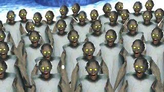I Created an Army of Tiny GRANNY!!! (Granny Mods)