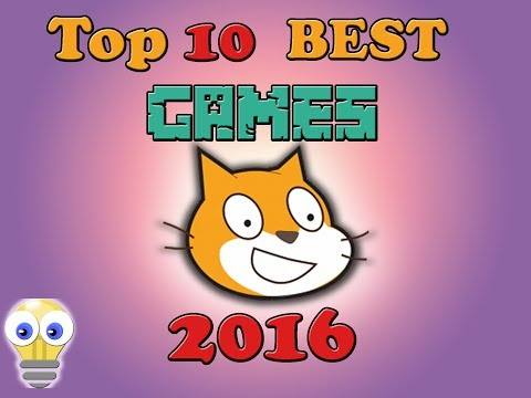 Top 10 best games on scratch 2016