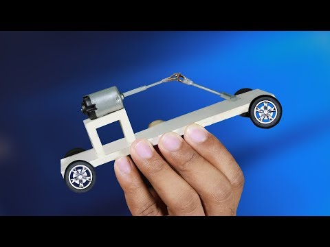 How to make a Electric Car at home | New Idea!