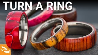 Turning a Comfort Ring Core (Woodturning Project)
