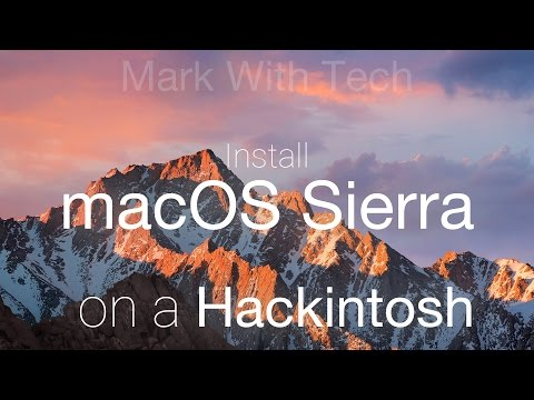 Install macOS Sierra 10.12 (Final) on Hackintosh