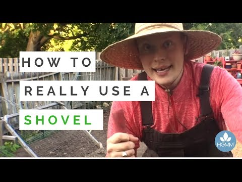 How to REALLY Use a Shovel | Proper Technique = No back Pain!