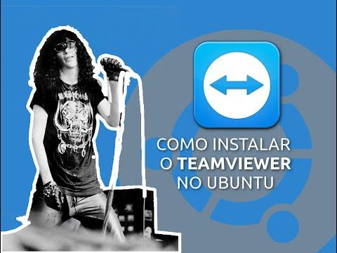 Como instalar o TeamViewer no Ubuntu + Pacotes MultiArch