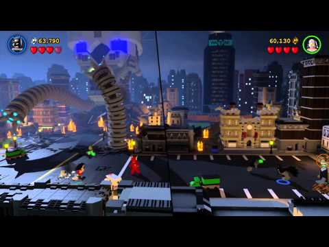 Lego Batman 3: Beyond Gotham - Walkthrough Part 17 - Botanical Gardens