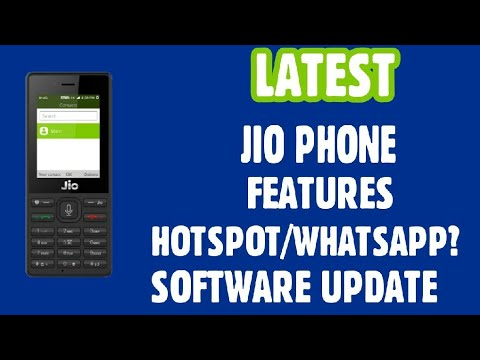 Jio Phone Features (Hotspot and WhatsApp Available?)