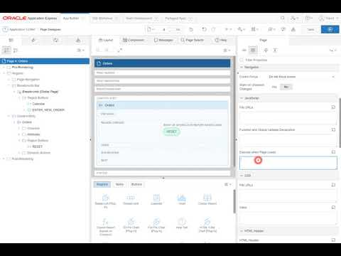 Oracle Apex 5.1 - Focus Cursor on Page Load