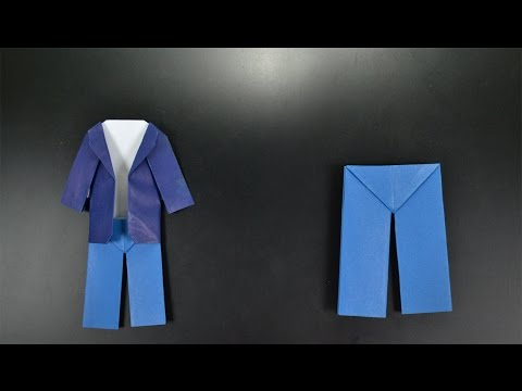 Origami: Pants - Instructions in English (BR)