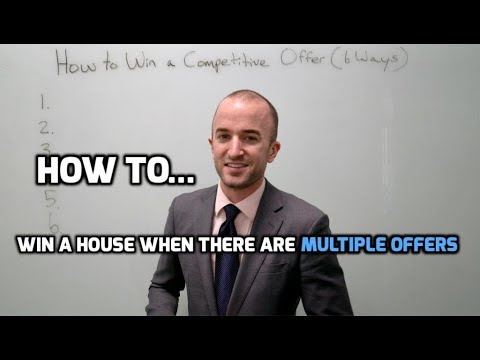 How to Win the House When There Are Multiple Offers