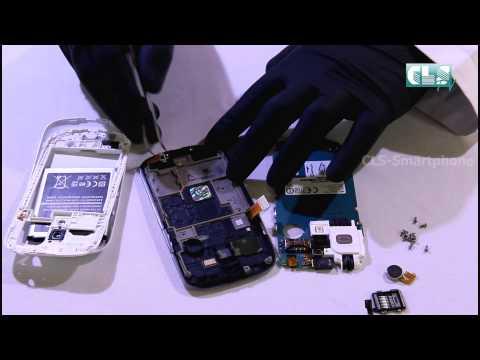 Display  Austausch von Samsung Galaxy S3 mini I Display  von Samsung Galaxy S3 mini wechseln, repari