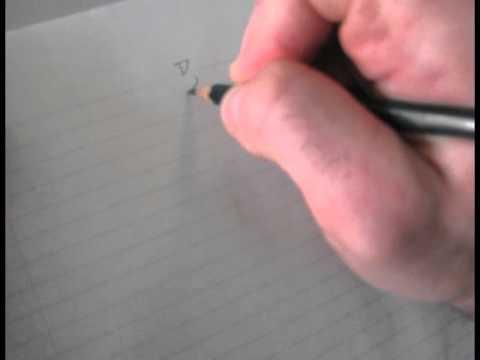 Learn to Write Aramaic - the square alphabet (square script 1 of 4)