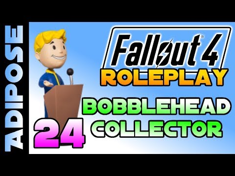 Let's Roleplay Fallout 4 - Bobblehead Collector #24 Friends in high places