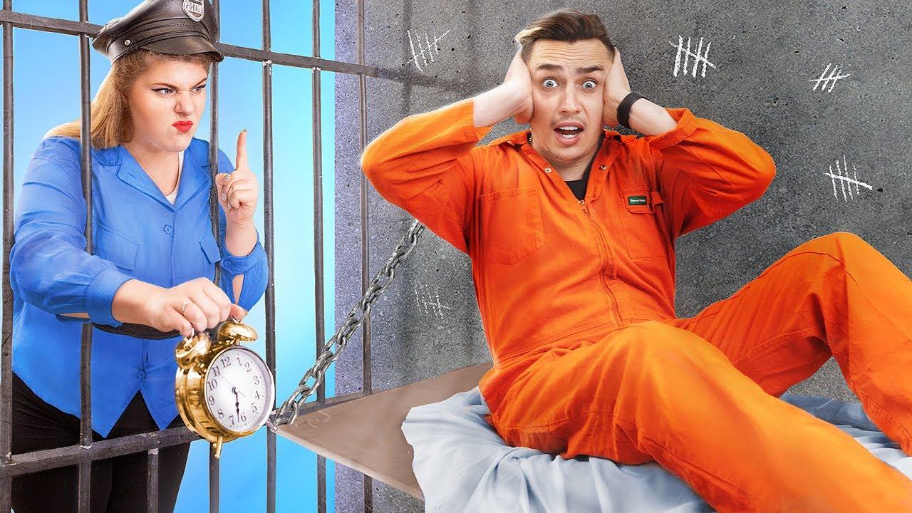 I Woke Up in Jail ! Funny Prison Break Fails