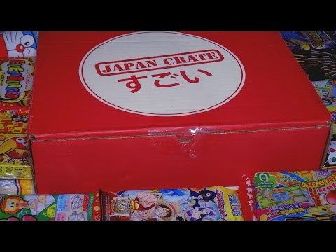 Opening: JAPAN CRATE February 2015 Japanese Snacks Subscription Box