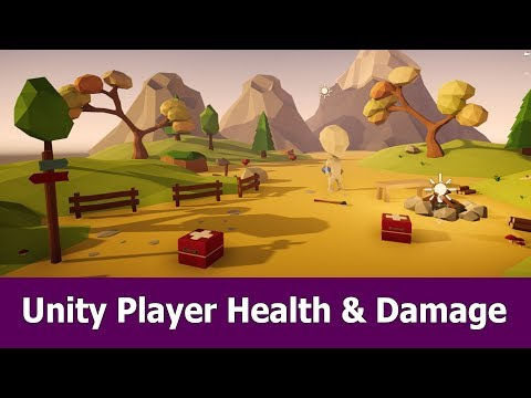 Unity 3d Player Health and Damage