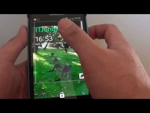 Samsung Galaxy S4: How to Set a Default Widget on Lock Screen