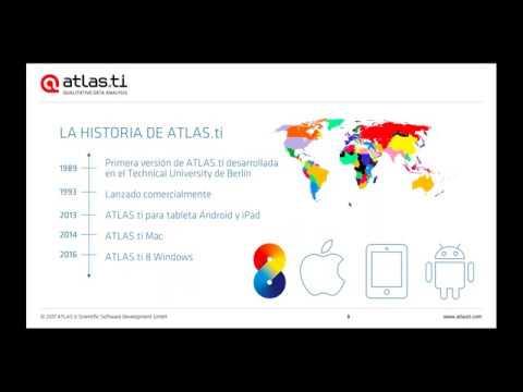 Taller gratuito sobre ATLAS.ti Mac