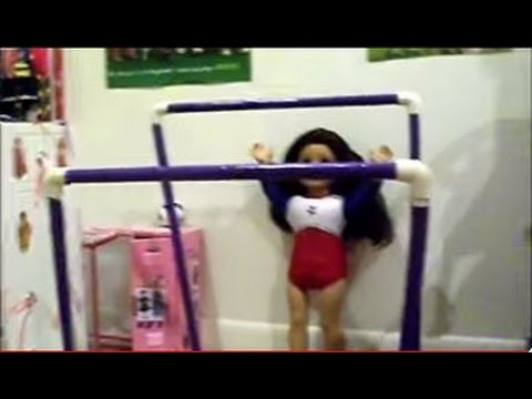 How To Make Your Own AG Gymnastics Uneven Bars & Beam!
