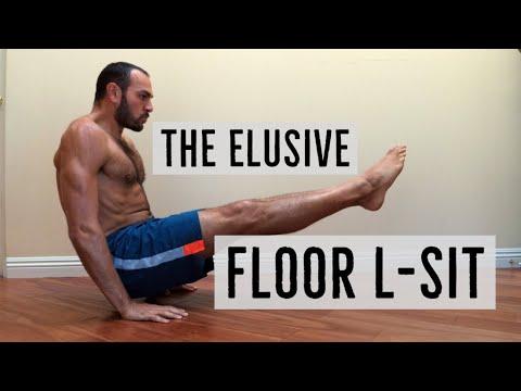 Floor L-sit Progression Tutorial by Antranik