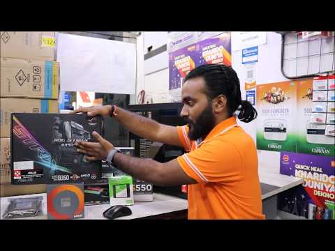 AMD Ryzen 5 1600 PC Build  Video Editing & Gaming PC   80K Budget