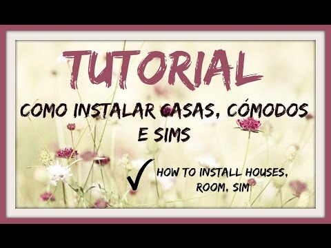 Sims 4 - How to install Houses, Rooms & Sims / Como instalar Casas / Cômodos ou Sims