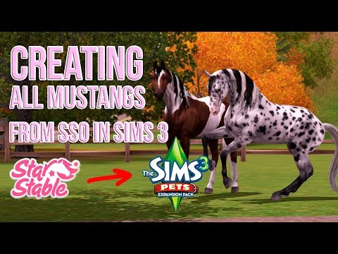 Creating All Mustangs from SSO in Sims 3! [3200+ subs special] - The Sims 3