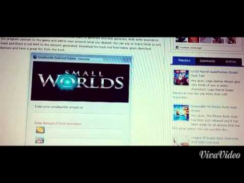 Smallworlds How to get gold for free! No password!