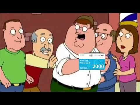 Peter finds the last wii points card