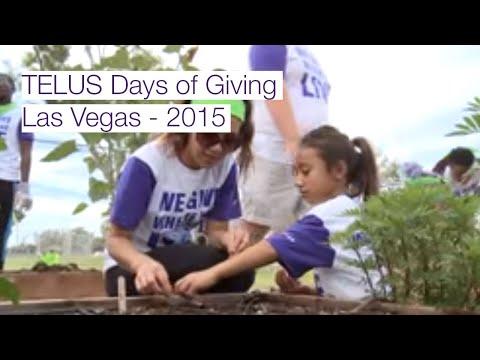 TELUS Days of Giving, Las Vegas, NV - 2015