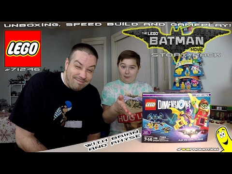 Lego Dimensions: Lego Batman Movie STORY Pack #71264 Unboxing, Speed Build & Gameplay - HTG