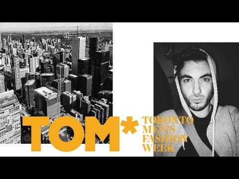 MY FIRST RUNWAY SHOW! | Toronto Men's Fashion Week