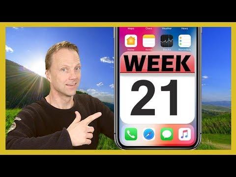 Show Week numbers in iPhone Calendar