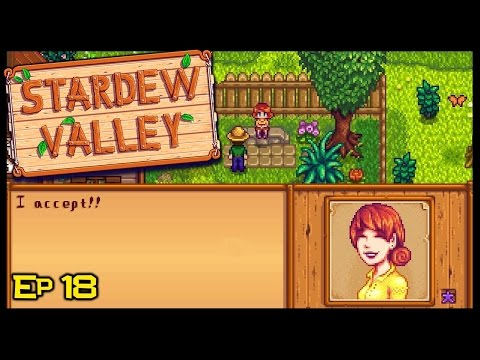 I'M GETTING MARRIED! | Stardew Valley Episode 18