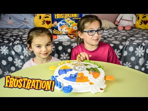 The Frustration Board Game Family fun board game Slam Tastic chasing game Review