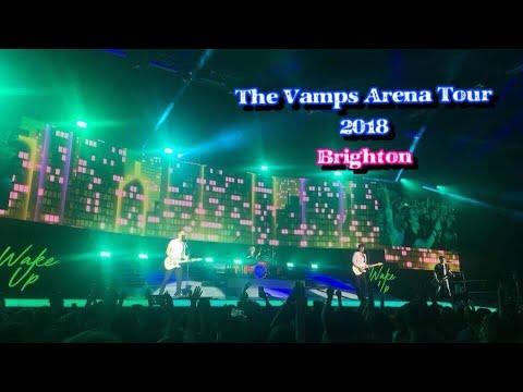 The Vamps Arena Tour 2018 - Brighton