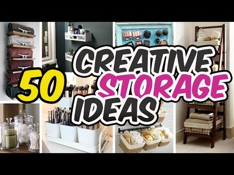 50 Best Bathroom Storage Ideas - Bathroom Organizers