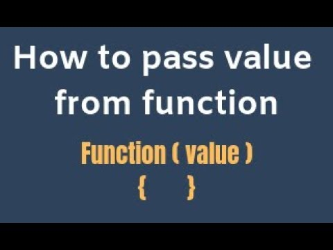 How to pass values from function in javascript