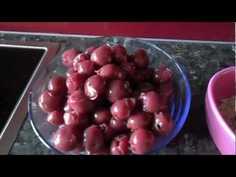 Cherry Frangipane Tart Recipe