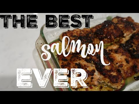 COOK WITH ME ● RECIPE FOR THE BEST SALMON YOU HAVE EVER TRIED....EVER! ● HONEY BUTTER GLAZED SALMON