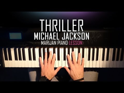 How To Play: Michael Jackson - Thriller | Piano Tutorial Lesson + Sheets