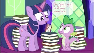 [MLP Comic Dub] Spike's Not Here Right Now (comedy)