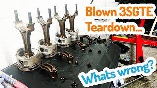 Teardown the Blown 3SGTE Celica GT-Four ST205