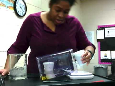 Temperature and Salinity affect Density