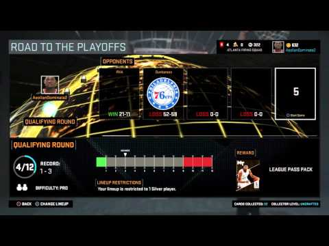NBA 2K16 Servers Cost Me 3 STRAIGHT LOSSES....I THINK