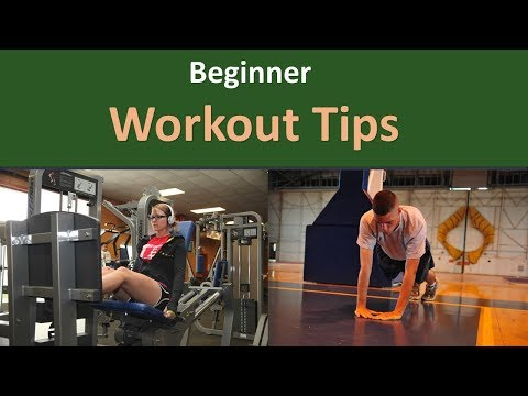 Beginner Workout Tips.|MAKE FITNESS A Routine.
