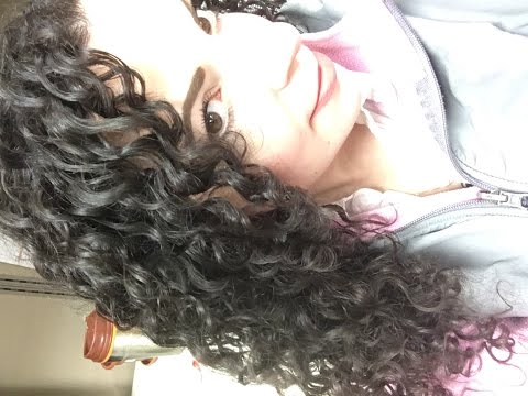 My Current Curly Hair Routine ONLY TWO Products